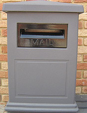 Classic Charcoal - Wide Face Letterbox